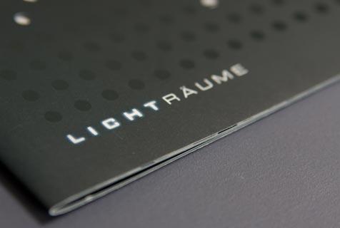 Lichträume Prospekt greinerdesign für die Stadt Lüdenscheid