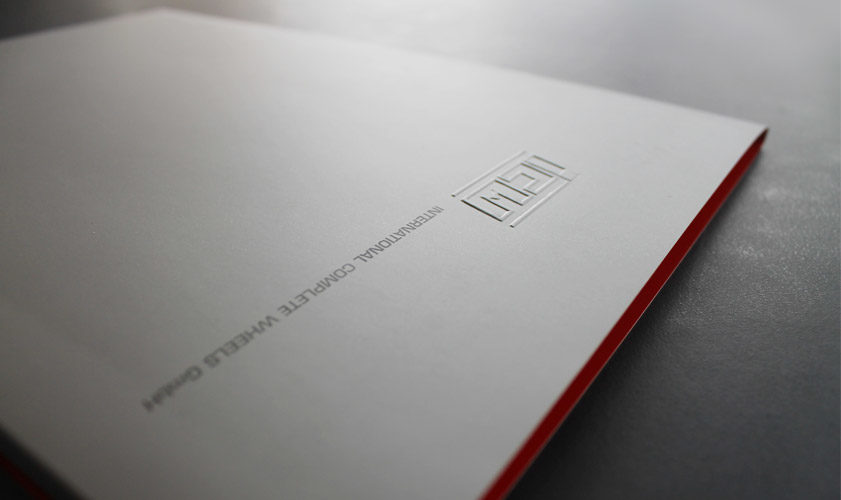 ICW Corporate Design von greinerdesign