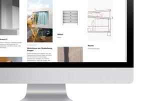 daniel prien architekten Internetseite von greinerdesign