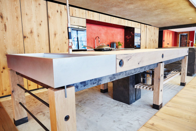 hofstube und kochschule im hotel deimann modulb ro. Black Bedroom Furniture Sets. Home Design Ideas